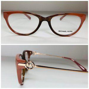 Michael Kors Cat Eye Brown Eyeglasses Frames NWOT